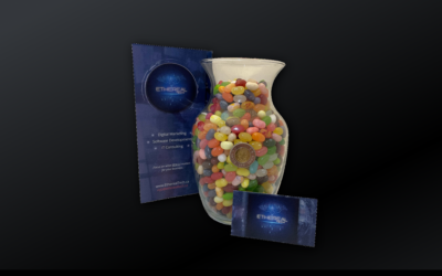 Count the jelly beans to win FREE website design, SEO, or digital marketing services!